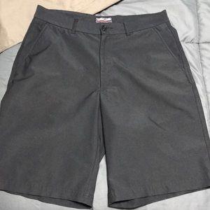 Black Kirkland Signature Dress Shorts